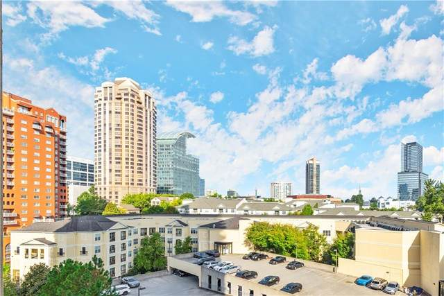 3481 Lakeside Drive NE #1201, Atlanta, GA 30326 (MLS #6958022) :: Path & Post Real Estate