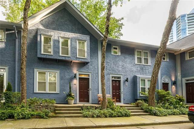 187 12th Street NE #4, Atlanta, GA 30309 (MLS #6958331) :: The Kroupa Team | Berkshire Hathaway HomeServices Georgia Properties