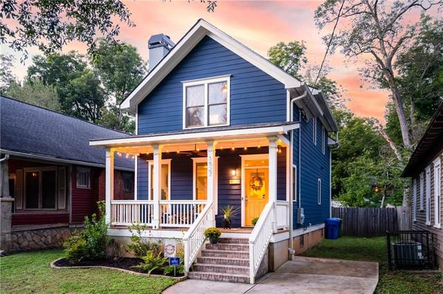 1527 S Gordon Street SW, Atlanta, GA 30310 (MLS #6959274) :: The Kroupa Team | Berkshire Hathaway HomeServices Georgia Properties
