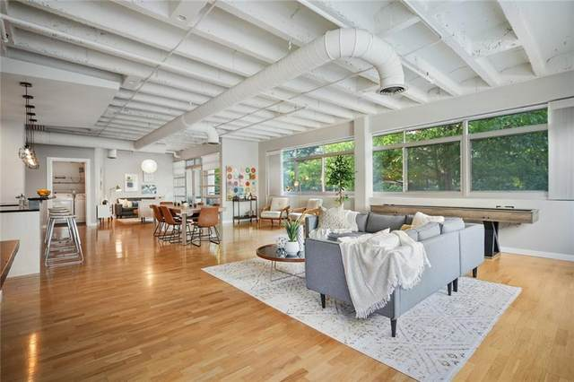 805 Peachtree Street NE #212, Atlanta, GA 30308 (MLS #6959882) :: The Kroupa Team | Berkshire Hathaway HomeServices Georgia Properties