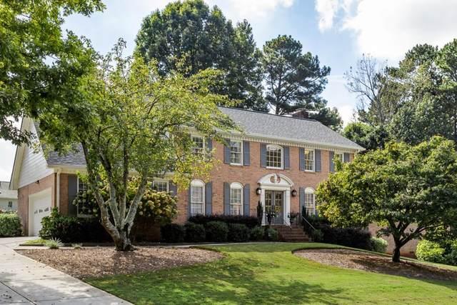 6166 Courtside Drive, Peachtree Corners, GA 30092 (MLS #6960444) :: North Atlanta Home Team
