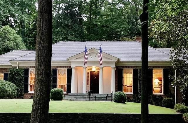 3425 Wood Valley Road NW, Atlanta, GA 30327 (MLS #6960605) :: The Kroupa Team | Berkshire Hathaway HomeServices Georgia Properties