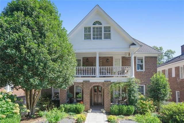 827 Argonne Avenue NE, Atlanta, GA 30308 (MLS #6960757) :: The Kroupa Team | Berkshire Hathaway HomeServices Georgia Properties