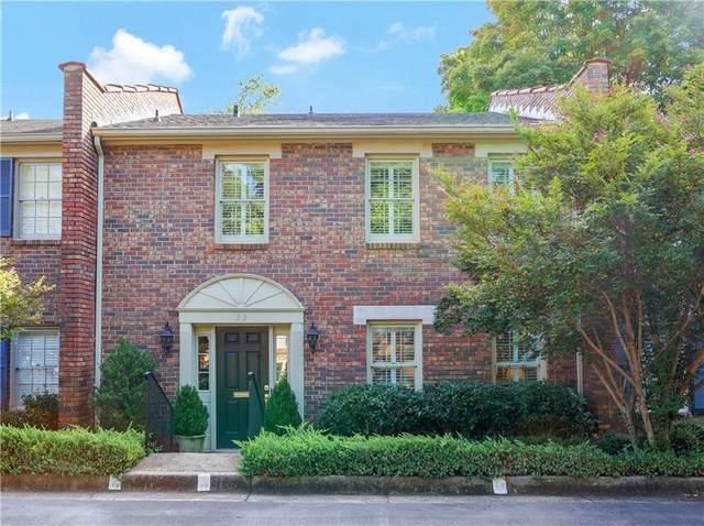 70 Old Ivy Road NE #23, Atlanta, GA 30342 (MLS #6961066) :: Dillard and Company Realty Group