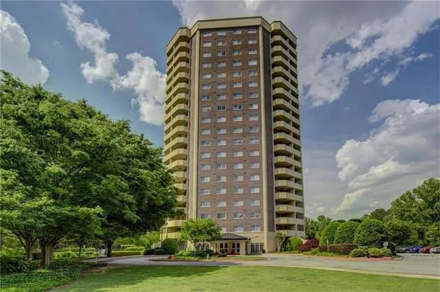 1501 Clairmont Road #1210, Decatur, GA 30033 (MLS #6961161) :: Compass Georgia LLC