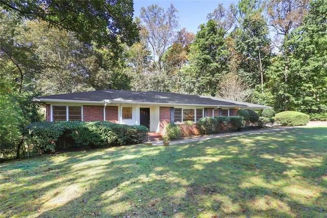 1888 Lenox Road NE, Atlanta, GA 30306 (MLS #6961590) :: Tonda Booker Real Estate Sales