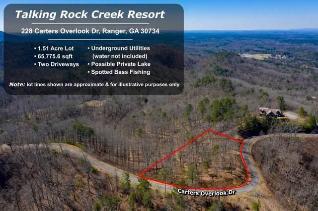 228 Carters Overlook Drive, Ranger, GA 30734 (MLS #6962453) :: Maria Sims Group