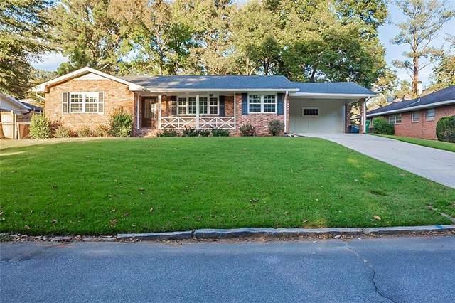 1755 Timothy Drive NE, Atlanta, GA 30329 (MLS #6962813) :: Morgan Reed Realty