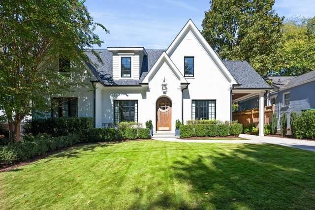 1368 Normandy Drive NE, Atlanta, GA 30306 (MLS #6963201) :: Tonda Booker Real Estate Sales