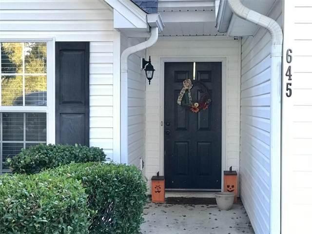 645 Applewood Drive, Monroe, GA 30656 (MLS #6963210) :: North Atlanta Home Team