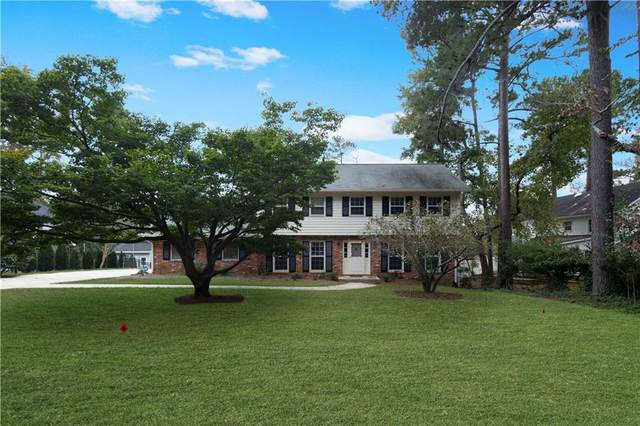 1391 Brenton Drive NE, Brookhaven, GA 30319 (MLS #6963593) :: Tonda Booker Real Estate Sales