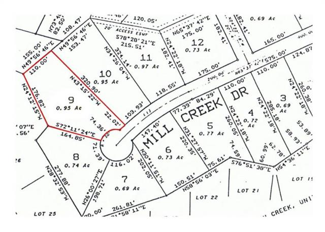 0 Mill Creek Drive Creek, Jasper, GA 30143 (MLS #5627594) :: The Bolt Group