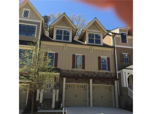 246 Trecastle Square #34, Canton, GA 30114 (MLS #5669492) :: North Atlanta Home Team