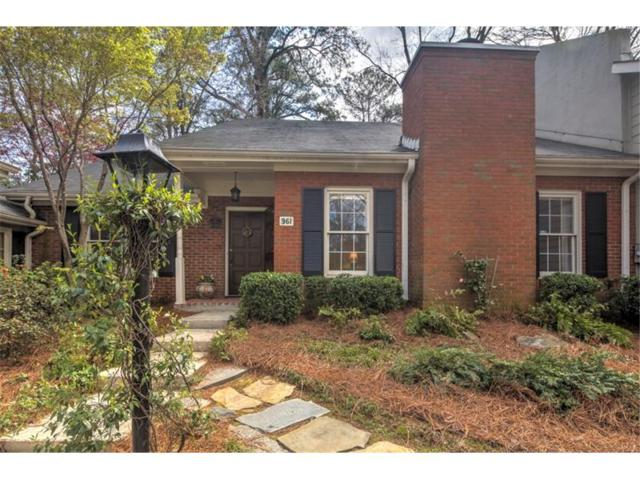 961 Moores Mill Road NW, Atlanta, GA 30327 (MLS #5817979) :: North Atlanta Home Team
