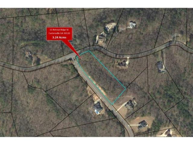 11 Retreat Ridge SE, Cartersville, GA 30120 (MLS #5833260) :: North Atlanta Home Team