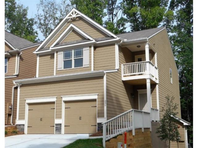 248 Oakview Drive #61, Canton, GA 30114 (MLS #5838913) :: Path & Post Real Estate