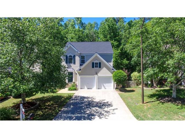 239 Colony Center Drive, Woodstock, GA 30188 (MLS #5839339) :: North Atlanta Home Team