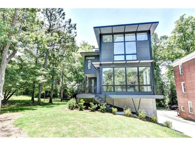829 North Avenue, Atlanta, GA 30306 (MLS #5841371) :: North Atlanta Home Team