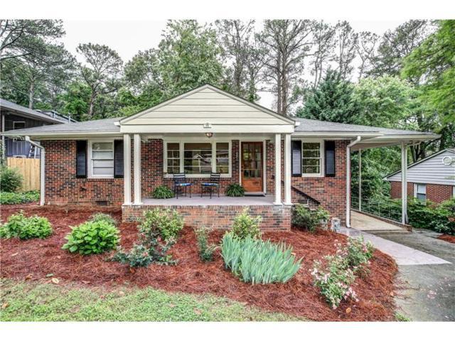 1851 Jan Hill Lane NE, Atlanta, GA 30329 (MLS #5843441) :: North Atlanta Home Team
