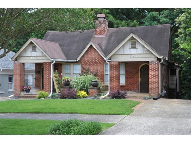 685 Yorkshire Road NE, Atlanta, GA 30306 (MLS #5866425) :: North Atlanta Home Team