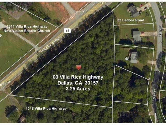 00 Villa Rica Highway, Dallas, GA 30157 (MLS #5867772) :: North Atlanta Home Team