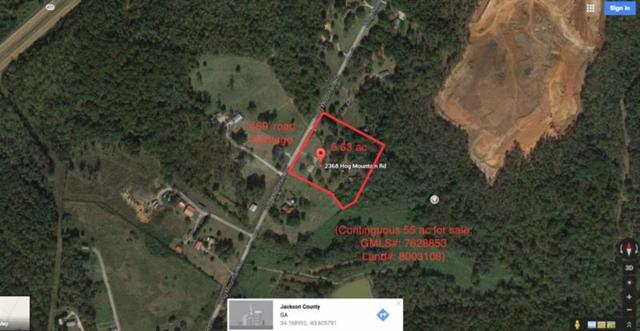 2368 Hog Mountain Road, Jefferson, GA 30549 (MLS #5880878) :: North Atlanta Home Team