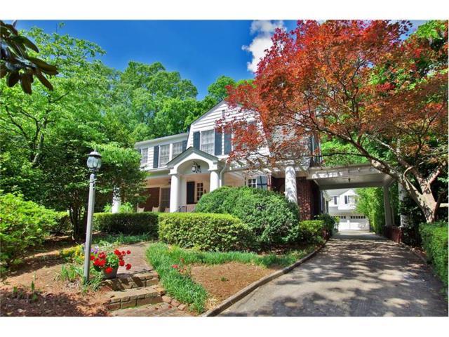 774 Lullwater Road, Atlanta, GA 30307 (MLS #5893486) :: North Atlanta Home Team