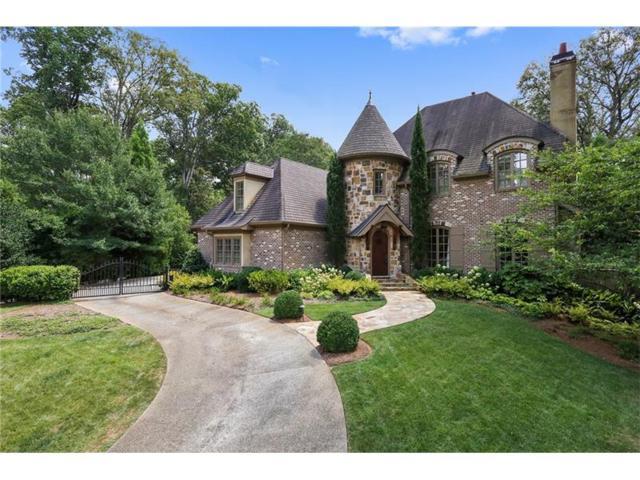 4195 W Oaks Court NE, Atlanta, GA 30342 (MLS #5894103) :: North Atlanta Home Team