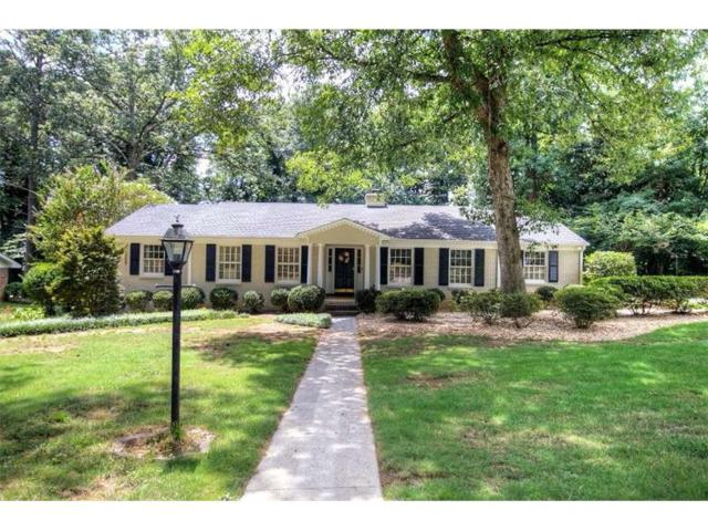 4311 E Kings Point Circle, Dunwoody, GA 30338 (MLS #5895860) :: RE/MAX Paramount Properties