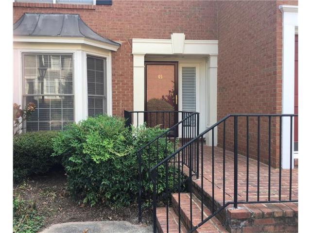 65 Mount Vernon Circle #65, Sandy Springs, GA 30338 (MLS #5899078) :: North Atlanta Home Team