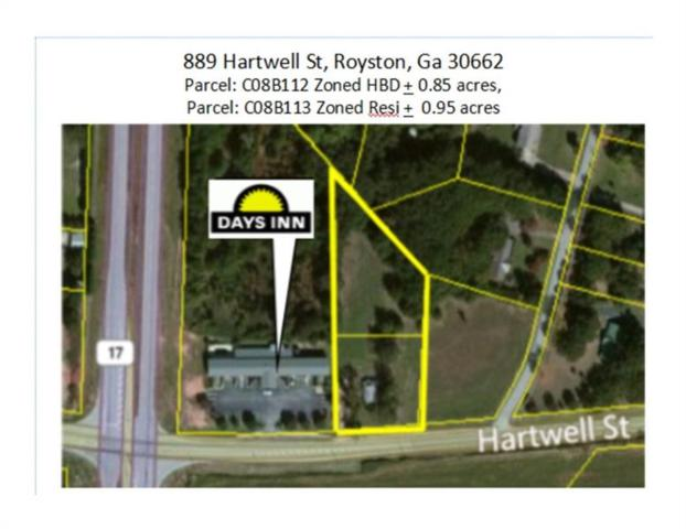 889 Hartwell Street, Royston, GA 30622 (MLS #5907713) :: The Bolt Group