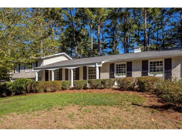 1674 Chateau Drive, Dunwoody, GA 30338 (MLS #5923791) :: Rock River Realty