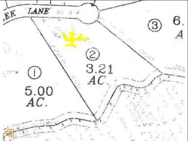 Lot 2 Pebble Creek Lane, Alto, GA 30510 (MLS #5935535) :: The Bolt Group