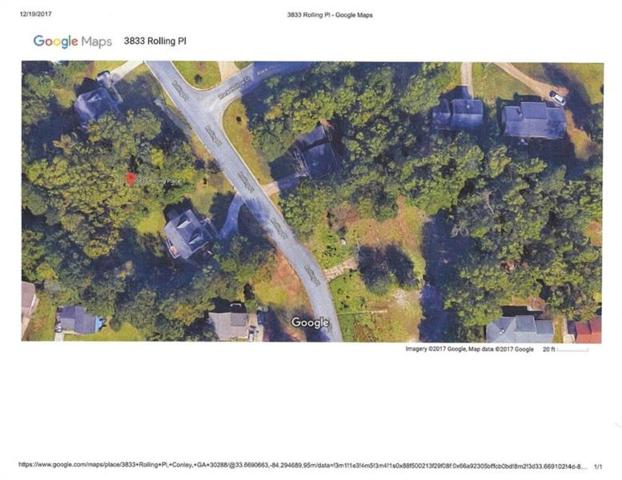 3833 Rolling Place, Conley, GA 30288 (MLS #5943850) :: North Atlanta Home Team