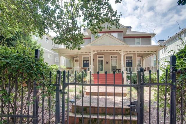 817 Edgewood Avenue NE, Atlanta, GA 30307 (MLS #5962999) :: The Justin Landis Group