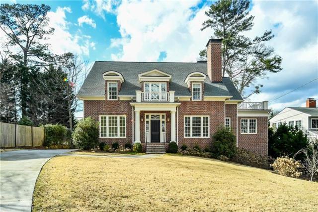 1116 Dan Johnson Road NE, Atlanta, GA 30307 (MLS #5968672) :: North Atlanta Home Team