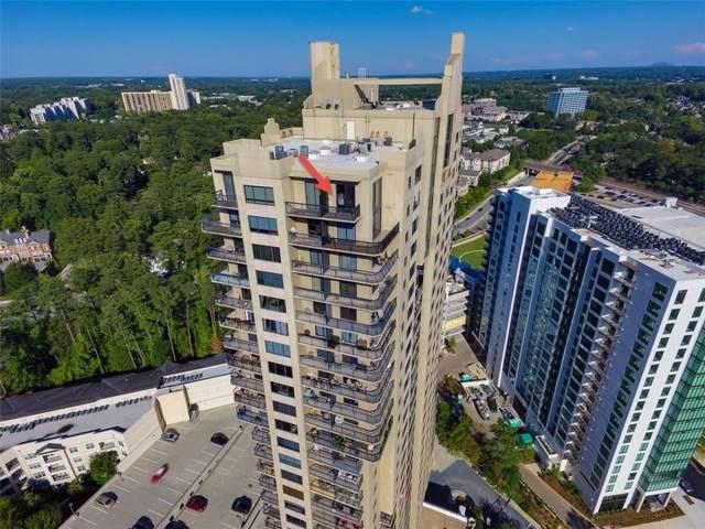 3481 Lakeside Drive NE P-Ts5, Atlanta, GA 30326 (MLS #5969930) :: RE/MAX Prestige