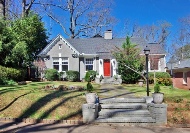 1330 Emory Road NE, Atlanta, GA 30306 (MLS #5973949) :: North Atlanta Home Team