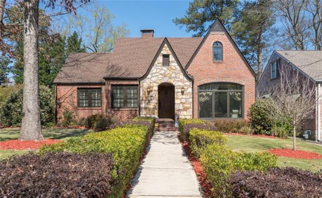 1184 Zimmer Drive NE, Atlanta, GA 30306 (MLS #5979551) :: North Atlanta Home Team
