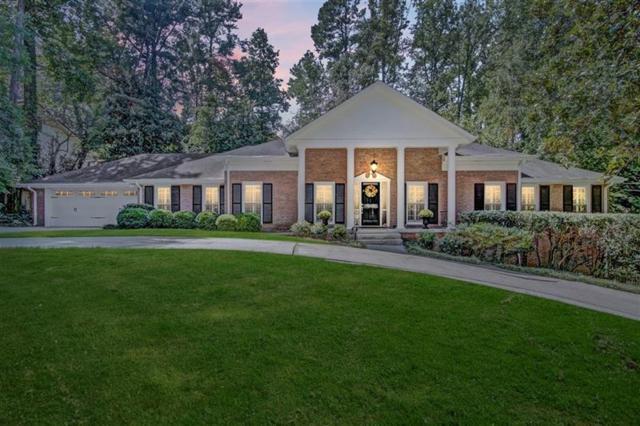 4694 Tall Pines Drive NW, Atlanta, GA 30327 (MLS #5982541) :: The Hinsons - Mike Hinson & Harriet Hinson