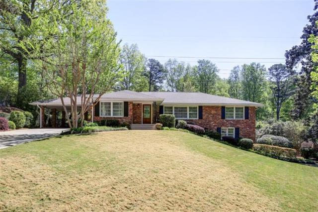 1545 Council Bluff Drive NE, Atlanta, GA 30345 (MLS #5984190) :: The Russell Group