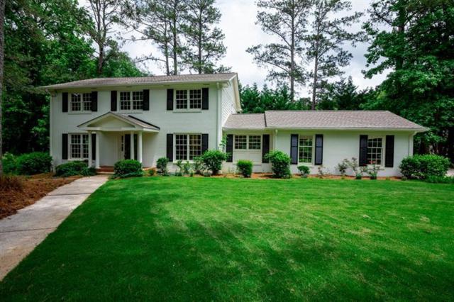 1495 High Haven Court NE, Atlanta, GA 30329 (MLS #5985953) :: RE/MAX Paramount Properties
