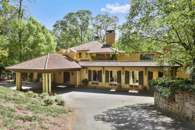 3575 Paces Valley Road NW, Atlanta, GA 30327 (MLS #5995480) :: The Russell Group