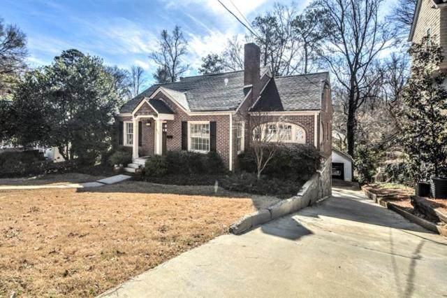817 Highland Terrace NE, Atlanta, GA 30306 (MLS #5997491) :: North Atlanta Home Team