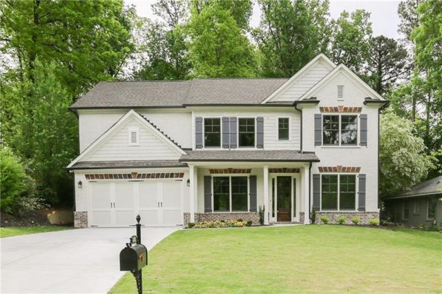 1849 Canmont Drive NE, Brookhaven, GA 30319 (MLS #6006459) :: The Russell Group