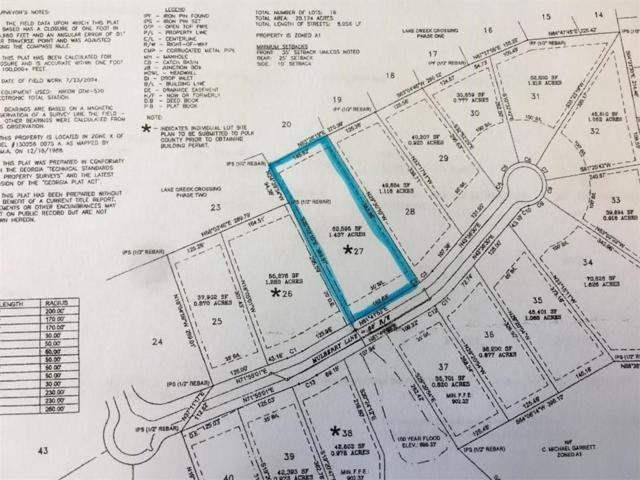 Lot27 Mullberry Lane, Lindale, GA 30173 (MLS #6030473) :: Hollingsworth & Company Real Estate