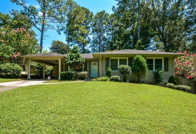 1233 Carol Lane NE, Atlanta, GA 30306 (MLS #6038845) :: RE/MAX Paramount Properties
