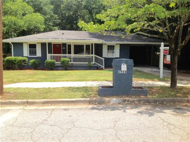 2926 SE Randall Street SE, Atlanta, GA 30344 (MLS #6039910) :: RE/MAX Paramount Properties