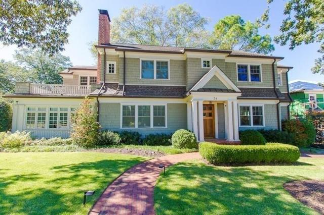 34 Park Lane NE, Atlanta, GA 30309 (MLS #6071028) :: The Cowan Connection Team