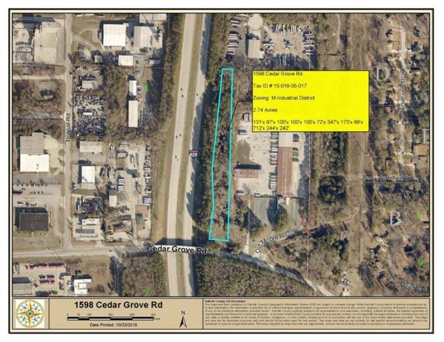 1598 Cedar Grove Road, Conley, GA 30288 (MLS #6087803) :: RE/MAX Paramount Properties